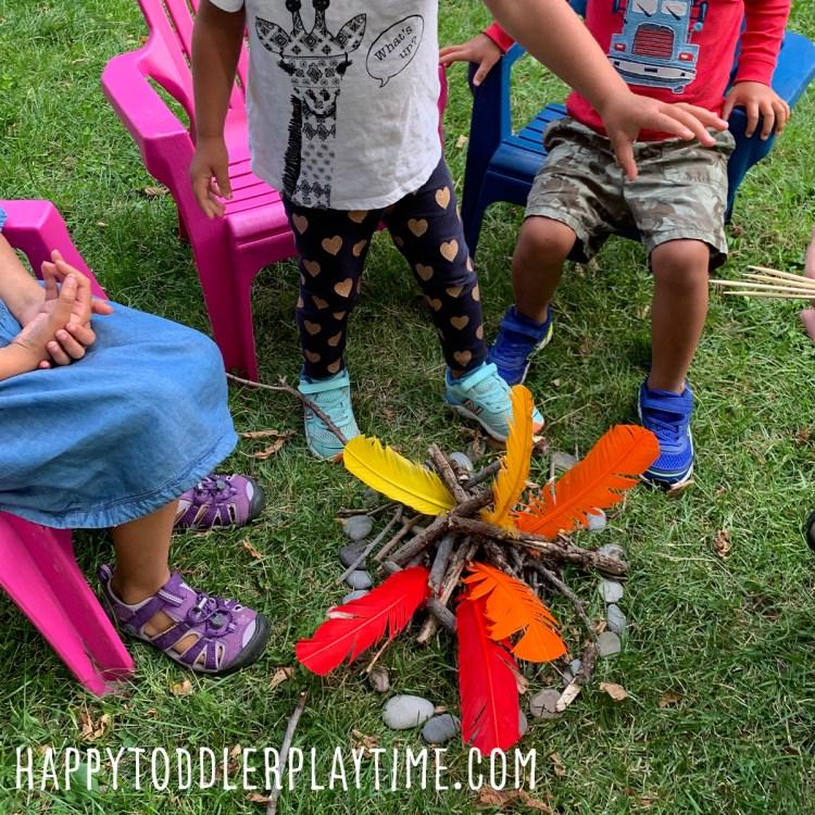 Campfire Pretend Play for Kids