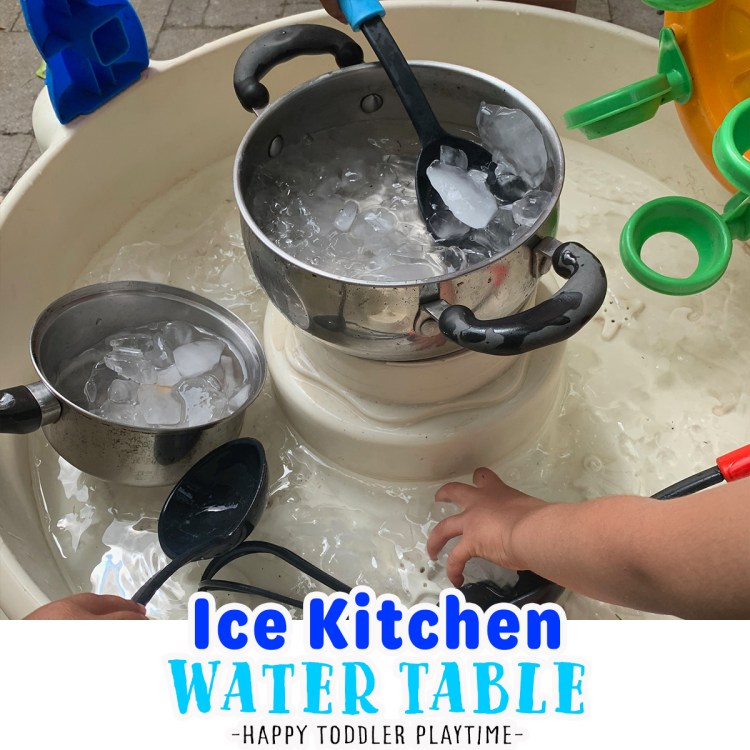 Ice Kitchen Water Table