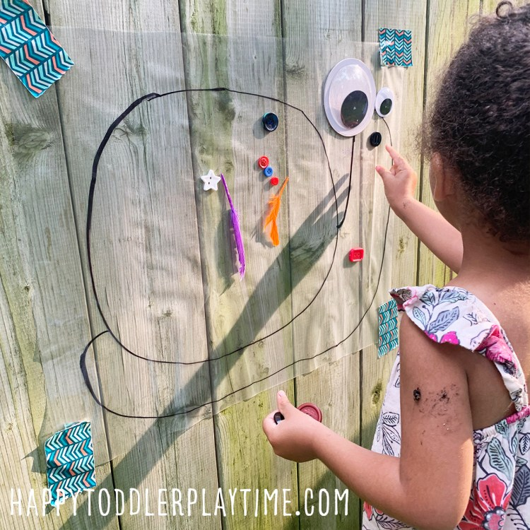 Snail Sticky Wall Craft for Toddlers