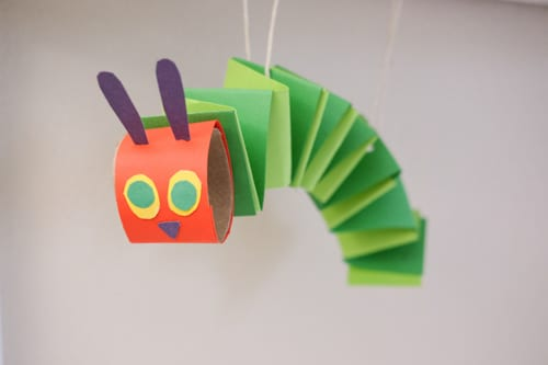 Paper Spring The Very Hungry caterpillar
