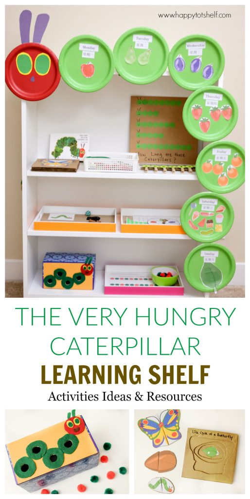 The Very Hungry Caterpillar Learning Activities \u0026 Shelf  sc 1 st  Happy Tot Shelf & The Very Hungry Caterpillar Learning Activities \u0026 Shelf - Happy Tot ...