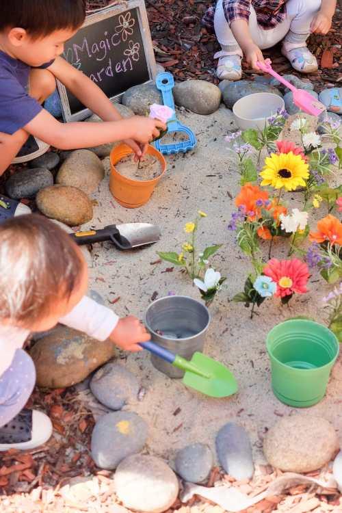 Gardening Pretend Play