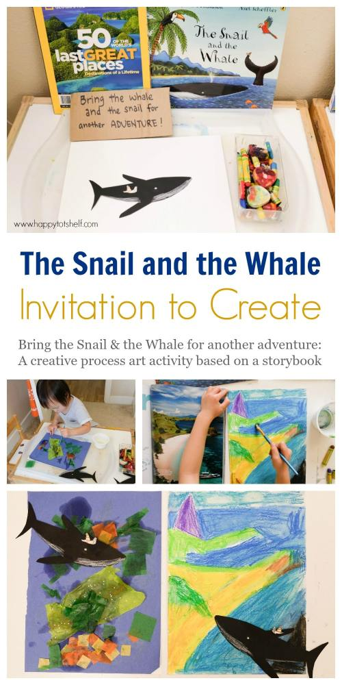 The Snail and the Whale Invitation to Create