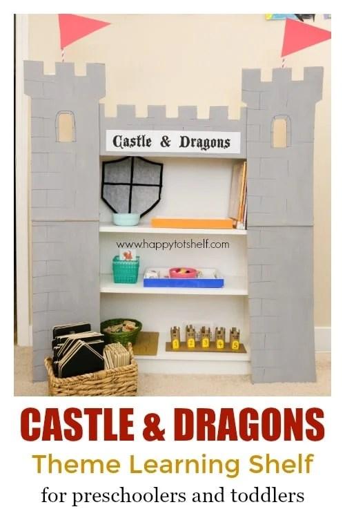 Castle & Dragon Learning Shelf