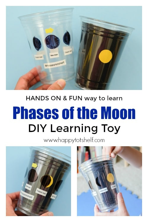 Phases of the Moon Learning Toy