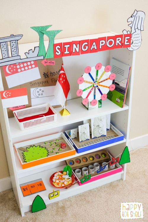 Singapore theme activities for kids