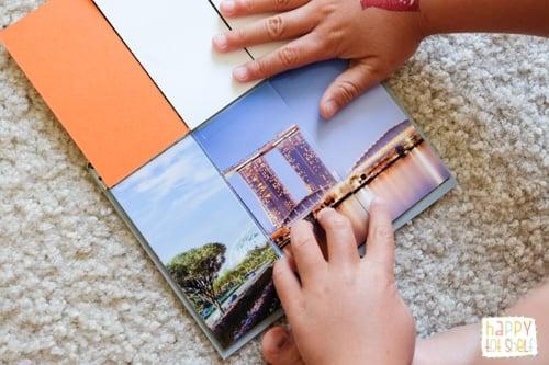 Singapore landmarks puzzle