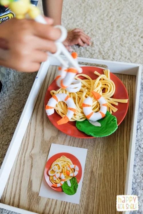 Heartfelt makan Hokkien mee theme activities for kids