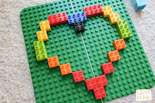 Fun way to learn symmetry with Duplo