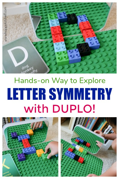 Letter symmetry with duplo