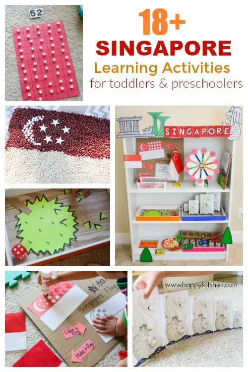 Singapore theme learning activities for kids