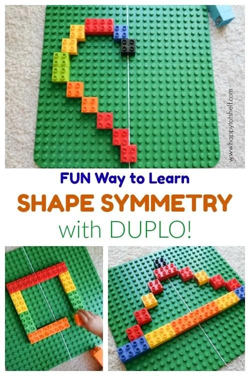 Learning shape symmetry