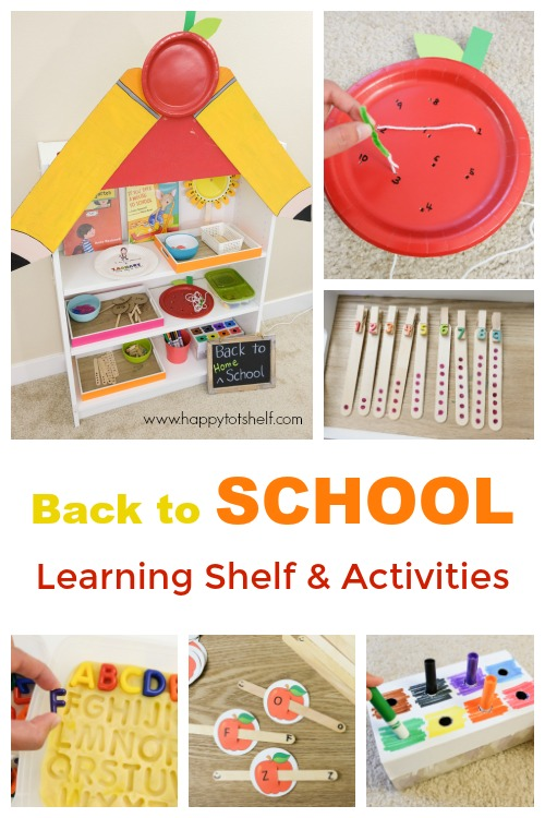 Back to school activity ideas