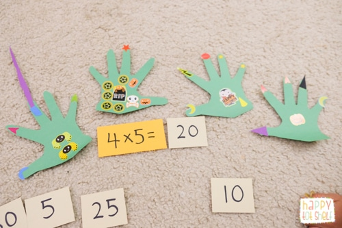 Monster theme math activity