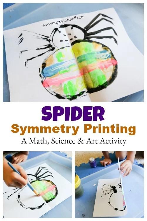 Spider symmetry printing