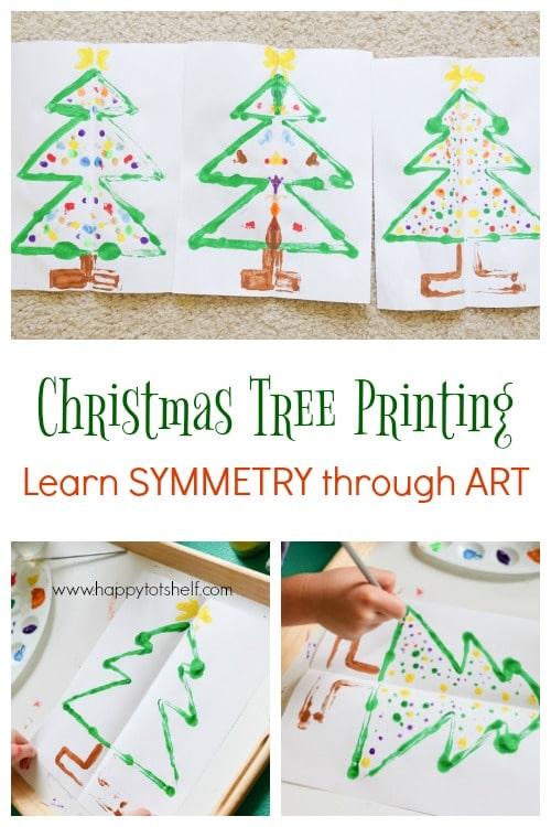 Symmetry Christmas Tree Printing - Symmetry Christmas Tree Printing - Happy Tot Shelf
