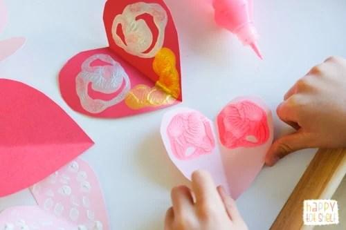 Symmetry Hearts Printing
