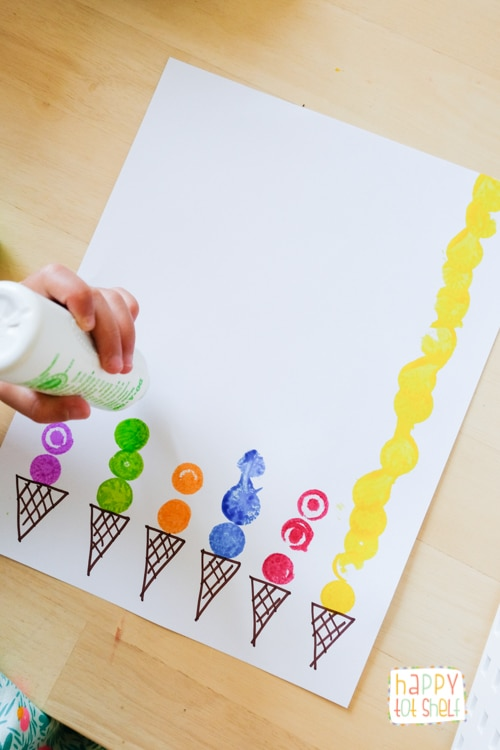 Dot Paint Marker Ice Cream