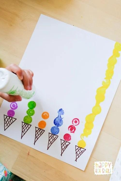 Dot Paint Marker Ice Cream