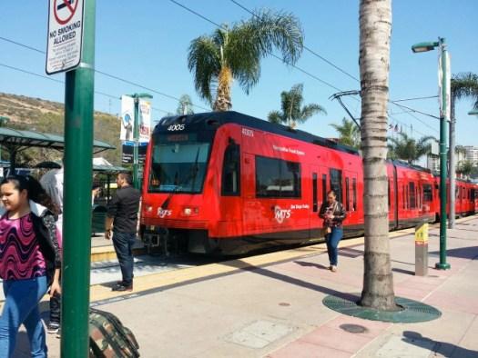 トロリー電車 サンディエゴ