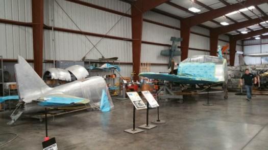 チノ空港・航空博物館のゼロ戦2