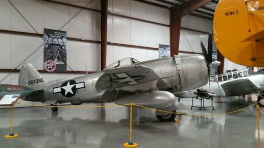 復元されたアメリカ軍の戦闘機2