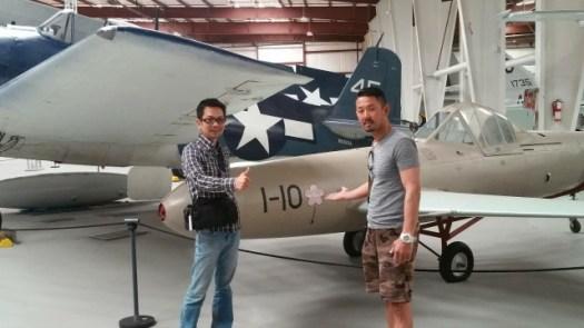 復元されたアメリカ軍の戦闘機132243