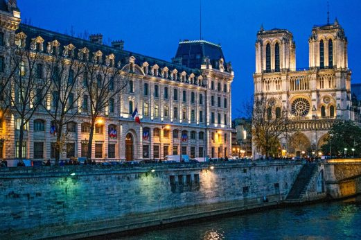 Notre Dame Cathedral, one of the most important Paris landmarks