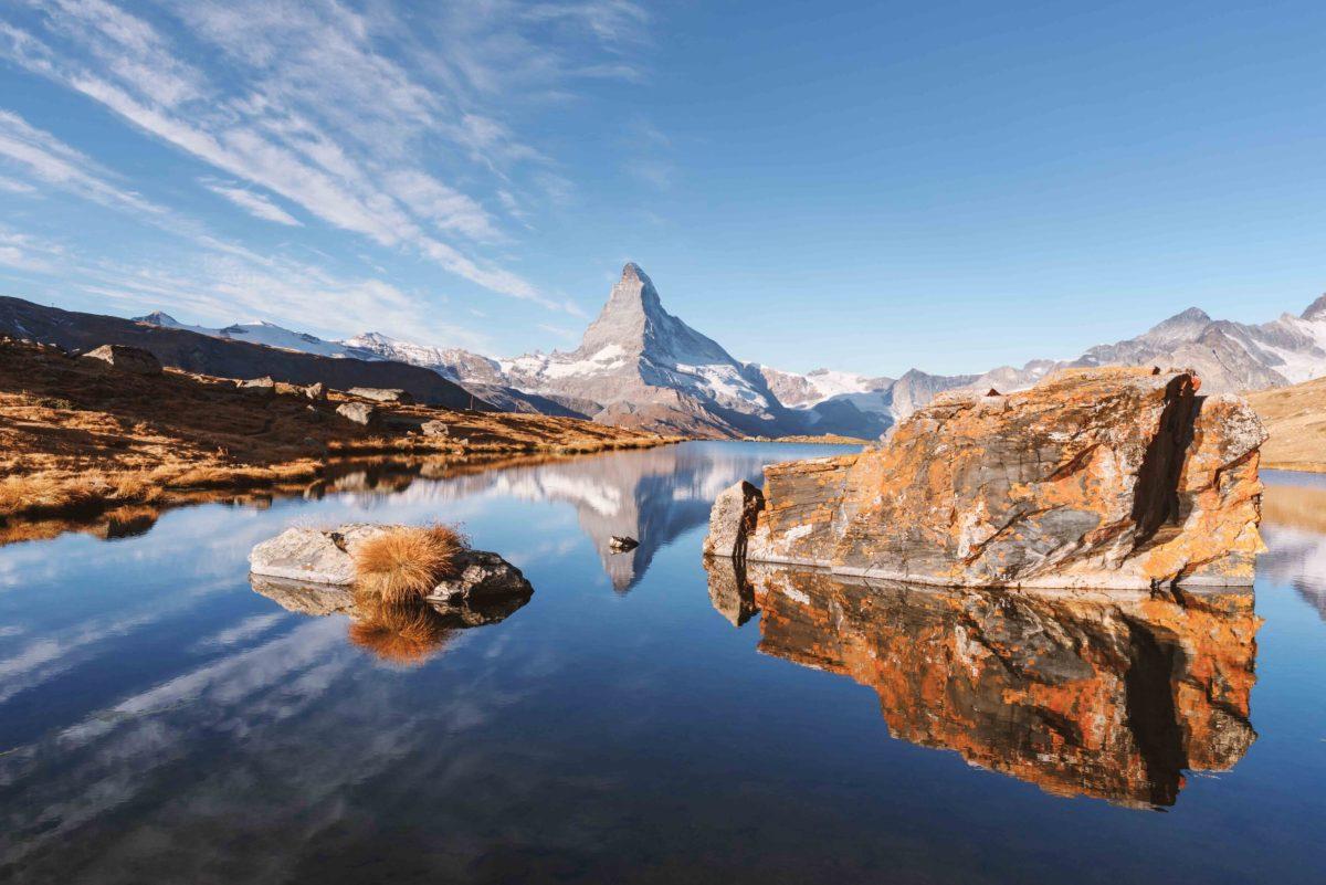 Outdoor-Erlebnisse in der Umgebung von Zermatt in der Nähe des Matterhorns