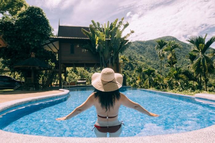 日月潭住宿-峇里峇里   南投VILLA   日月潭住宿  大自然無邊際泳池,峇里島渡假民宿