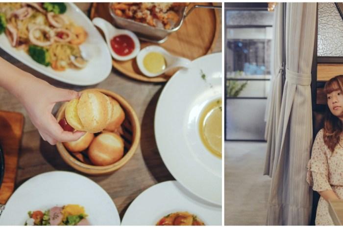 羽樂歐陸創意料理。台北松山美食 一間溫暖的餐廳,來自於對家人的愛 / 台北餐廳 / 捷運小巨蛋美食