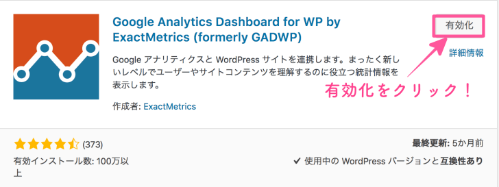 Google Analytics Dashboard for WP