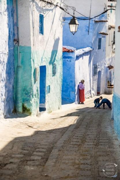 Chefchaouen, Marokko's blaue Stadt