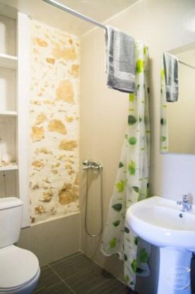 Chania BudgetBunk Hotel Hostel Bath