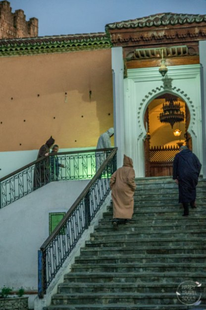 Morning Prayer Mosque Djellaba