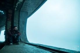 Buzludzha UFO in Bulgarien