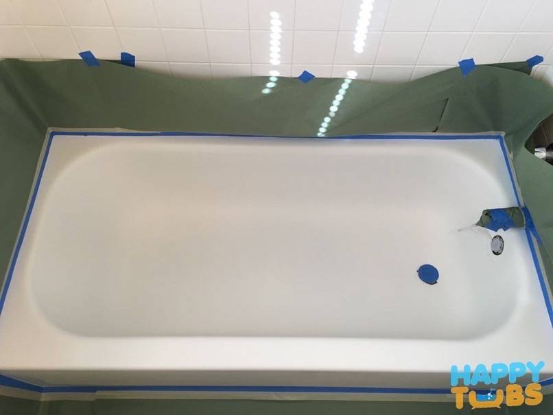 Bathtub Refinishing in Denton, TX - Happy Tubs