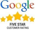 Happy Tubs 5 Star Google Rating