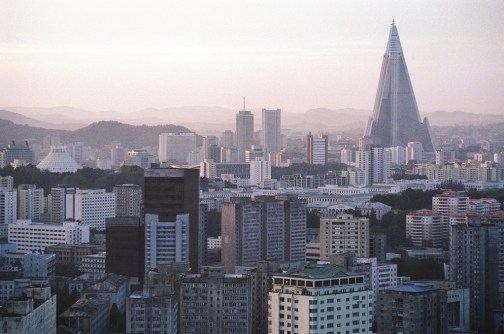 Pyongyang North Korea Skyline