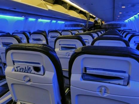Alaska Economy Cabin to NY