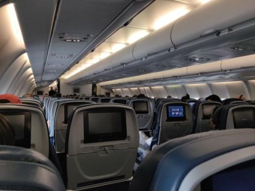 Delta Seattle to Amsterdam Flight Load