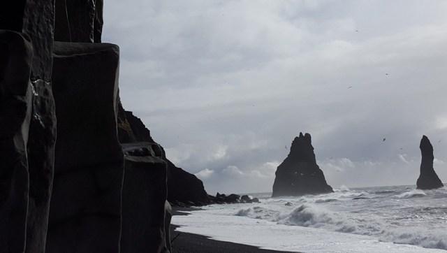 Iceland Rocky Beach