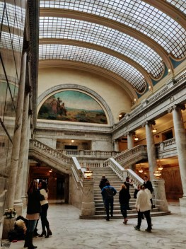 Utah State Capitol Building Staircase