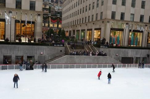 Rockefeller Center Ice Rink