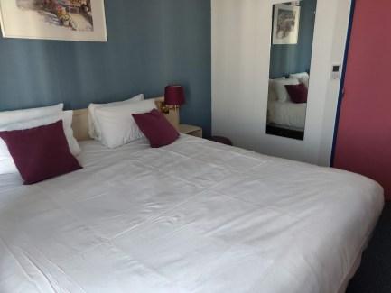 Hotel Kyriad Colmar Bed