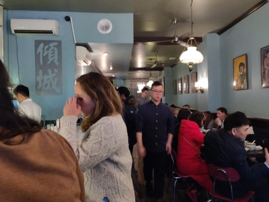 Cafe China Crowd