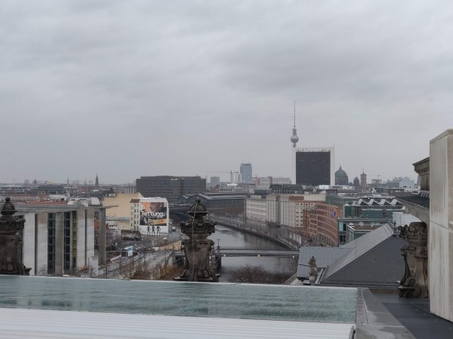 View from the Roof of Riechstag Building