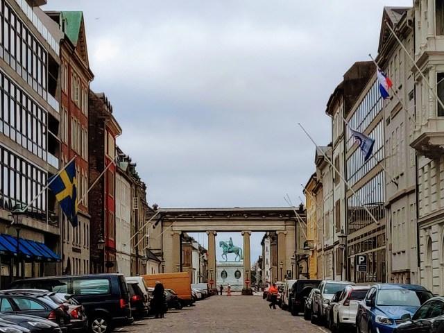 Copehange Walking Tour Heading Towards Amalienborg Palace