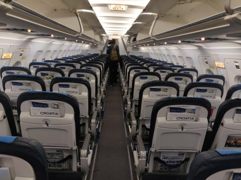 Croatia Airlines Economy Cabin