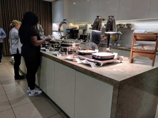 Plaza Premium Lounge Buffet
